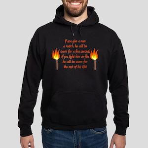On Fire Hoodie (dark)