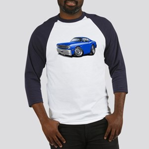 Duster Blue-White Car Baseball Jersey