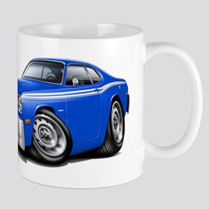Duster Blue-White Car Mug