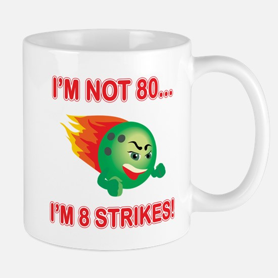 80th Bday Strikes Mug