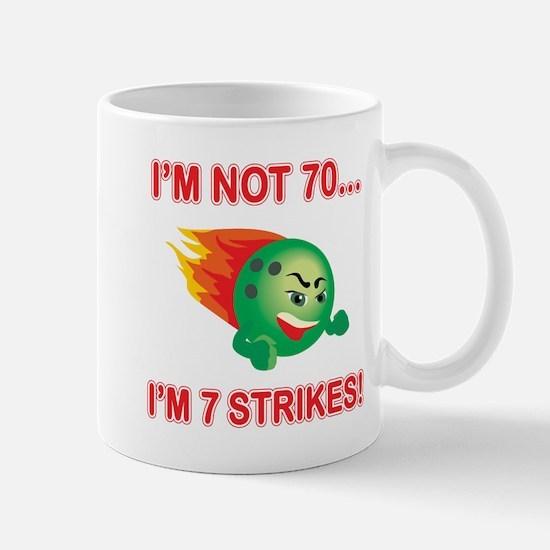 70th Bday Strikes Mug
