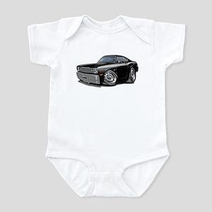 Duster Black-White Car Infant Bodysuit