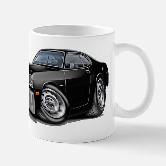 1970-74 Duster Black Car Mug