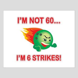 60th Bday Strikes Small Poster