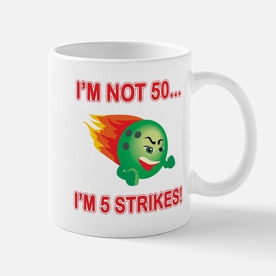 50th Bday Strikes Mug