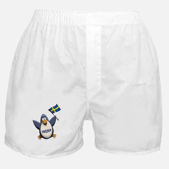 Sweden Penguin Boxer Shorts