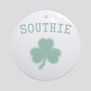 Southie Irish Ornament (Round)