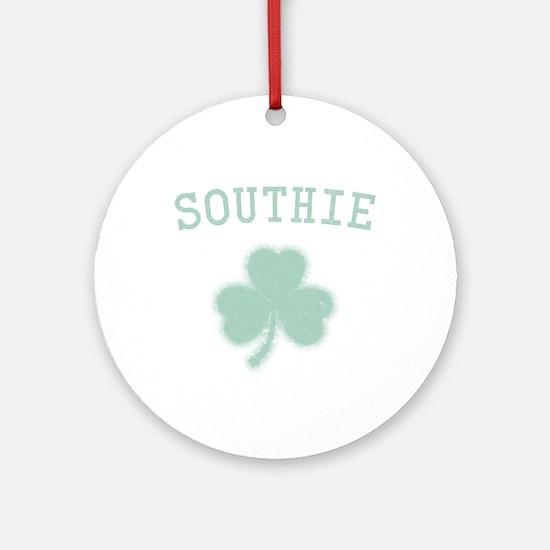 Southie Irish Ornament (Round)