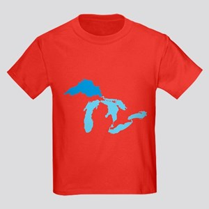 Lake Superior Kids Dark T-Shirt