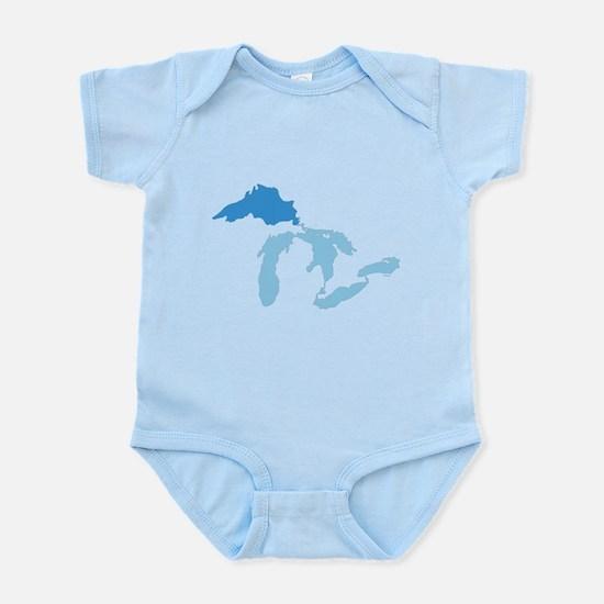 Lake Superior Infant Bodysuit