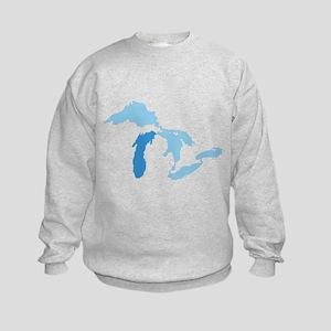 Lake Michigan Kids Sweatshirt