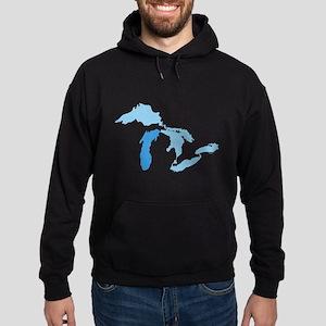 Lake Michigan Hoodie (dark)