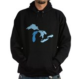 Lake michigan Dark Hoodies