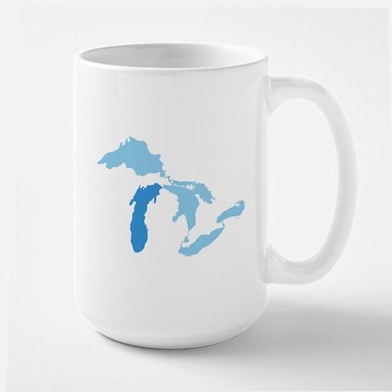 Lake Michigan Large Mug