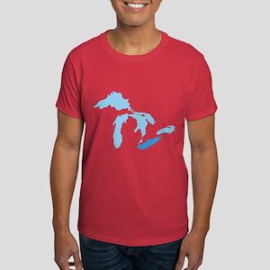Lake Erie Dark T-Shirt