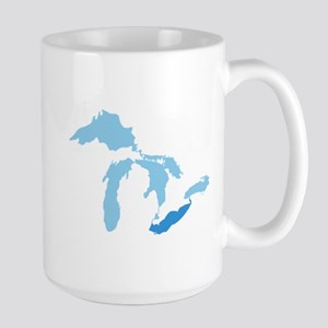 Lake Erie Large Mug