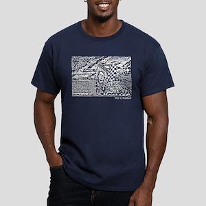 KOP Men's Fitted T-Shirt (dark)