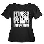 Fitness is not a matter... Women's Plus Size Scoop
