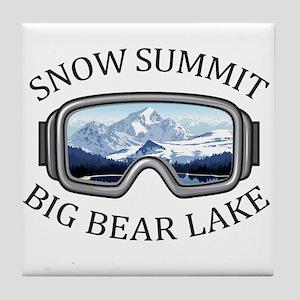 Snow Summit - Big Bear Lake - Calif Tile Coaster
