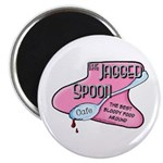Jagged Spoon Cafe Magnet