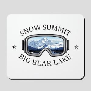 Snow Summit - Big Bear Lake - Californ Mousepad