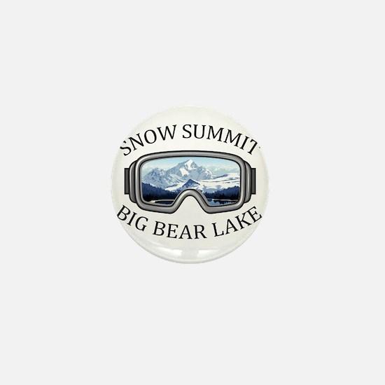 Snow Summit - Big Bear Lake - Califo Mini Button