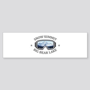 Snow Summit - Big Bear Lake - Cal Bumper Sticker