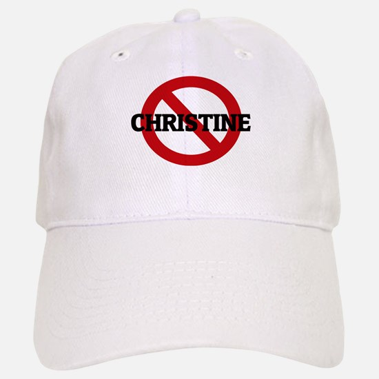 Anti-Christine Baseball Baseball Cap