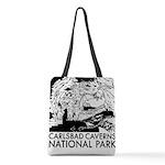 Carlsbad Caverns National Park Polyester Tote Bag