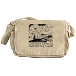 Carlsbad Caverns National Park Messenger Bag