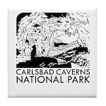 Carlsbad Caverns National Park Tile Coaster