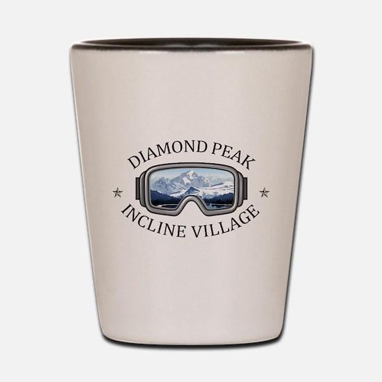 Diamond Peak - Incline Village - Neva Shot Glass