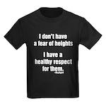 No Fear of Heights Kids Dark T-Shirt