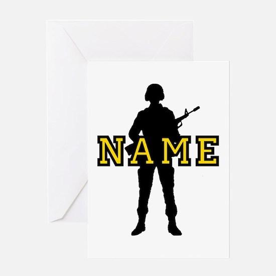 Army Custom #5 Greeting Card