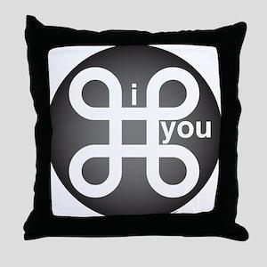 i Command you Throw Pillow