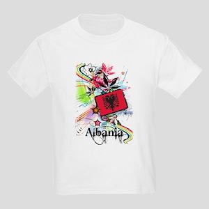 Flower Albania Kids Light T-Shirt