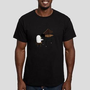Concert Pianist Men's Fitted T-Shirt (dark)
