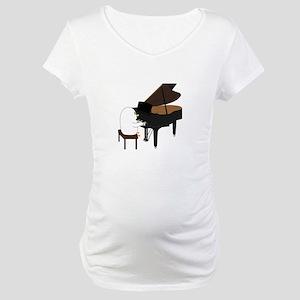 Concert Pianist Maternity T-Shirt