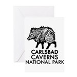 Carlsbad Caverns National Park Javelina Greeting C