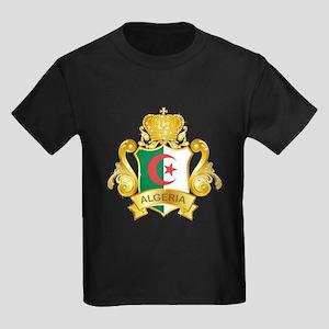 Gold Algeria Kids Dark T-Shirt