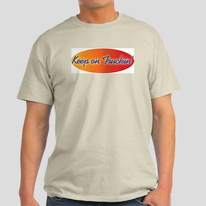 Retro Keep On Truckin Light T-Shirt