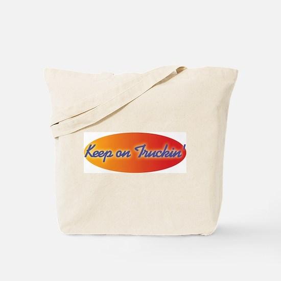 Retro Keep On Truckin Tote Bag