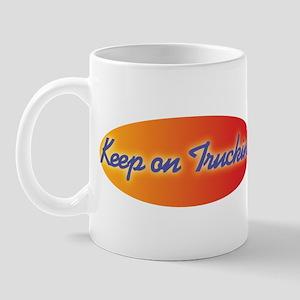 Retro Keep On Truckin Mug