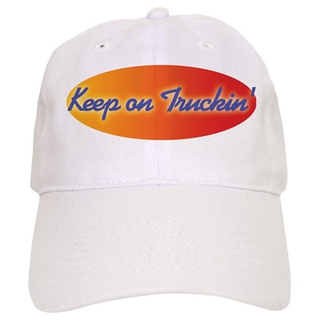Retro Keep On Truckin Baseball Cap by trendyteeshirts 64d80092e777