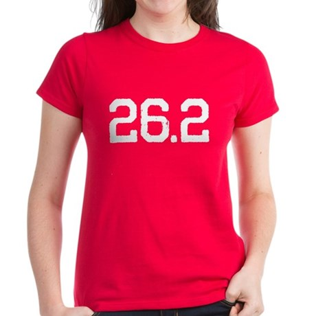 26.2 Miles Women's Dark T-Shirt