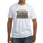 Mystery Writer Fitted T-Shirt