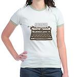 Mystery Writer Jr. Ringer T-Shirt