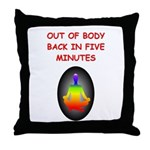 astral projection gifts Throw Pillow
