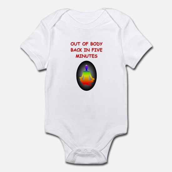 astral projection gifts Infant Bodysuit