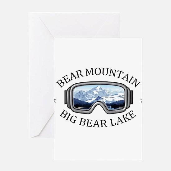 Bear Mountain - Big Bear Lake - C Greeting Cards